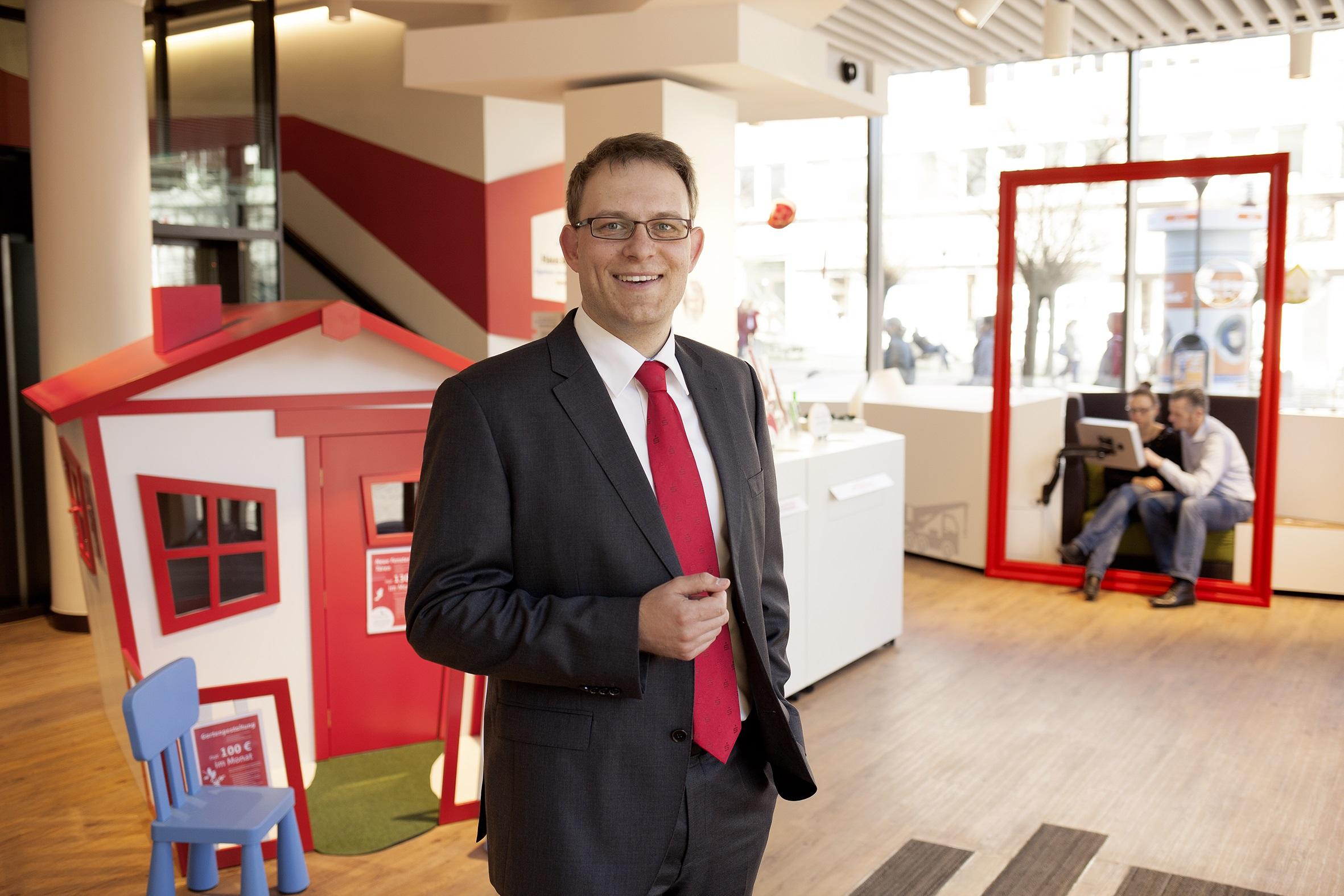 Marco Thomas, Leiter Baufinanzierung bei der Förde Sparkasse
