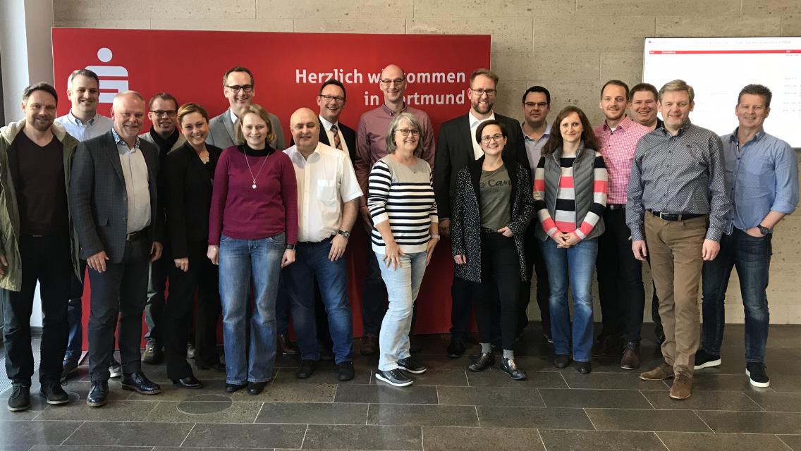 Das waren die Teilnehmer des Kompaktseminar: Erfolgreiche Vermittlerbetreuung, März 2019