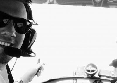 Patrick Hellweg als Pilot
