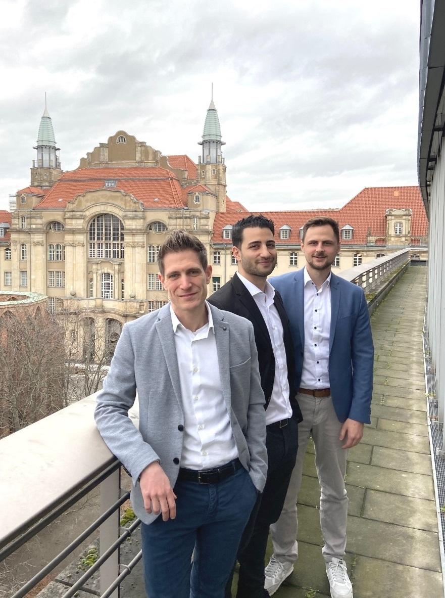 Das Team DKG: Sebastian Hollstein, Onur Kavasoglu und Felix Hörger (v.l.n.r.)